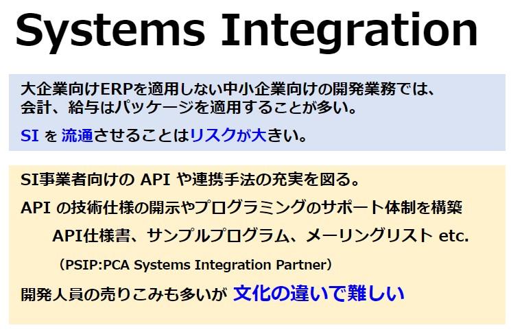パートナー戦略ーSystems Integration